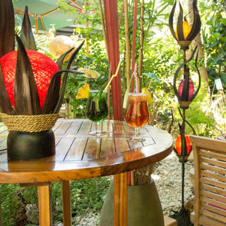 Le Manta, romantic atmosphere in a tropical garden