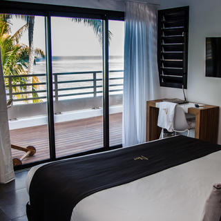 Ness by D-Ocean, a room with a lagoon view