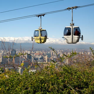 San Cristo bal: a delightful walk on the heights of Santiago