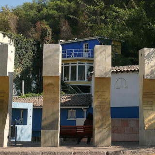 La Chascona: the house-museum of the poet Pablo Neruda