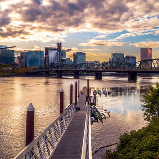 Portland: a trendy city in the heart of the US