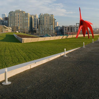 Take a stroll in the Olympic Sculpture Park