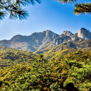 Le parc national Bukhansan