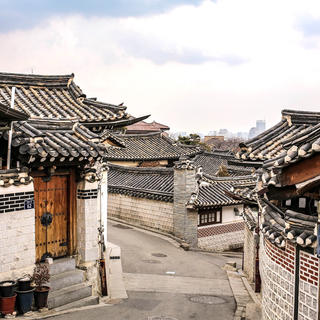 The Bukchon district : escape into another time