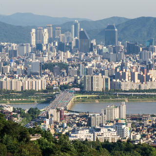 N Seoul Tower and Namsan Mountain, a splendid panorama