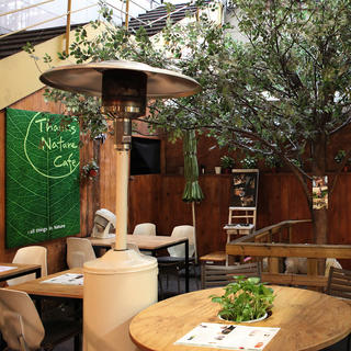 Thanks Nature Café: a natural rest stop in Hongdae
