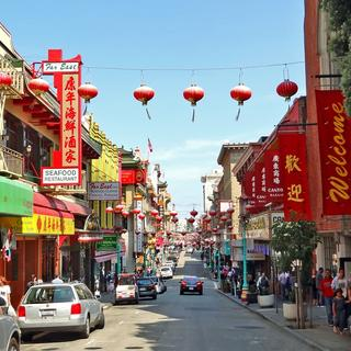 Chinatown: the largest in America