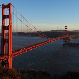 Le Golden Gate Bridge, un pont en or