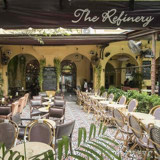 The Refinery: a bistro in a former opium factory