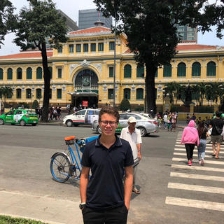 Visit Ho Chi Minh City with 16-year-old Maximilien