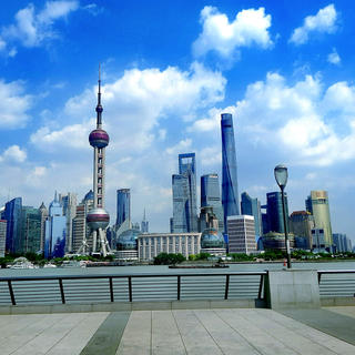 The Oriental Pearl Tower: ascending to the sky