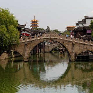 The seven treasures of Qibao