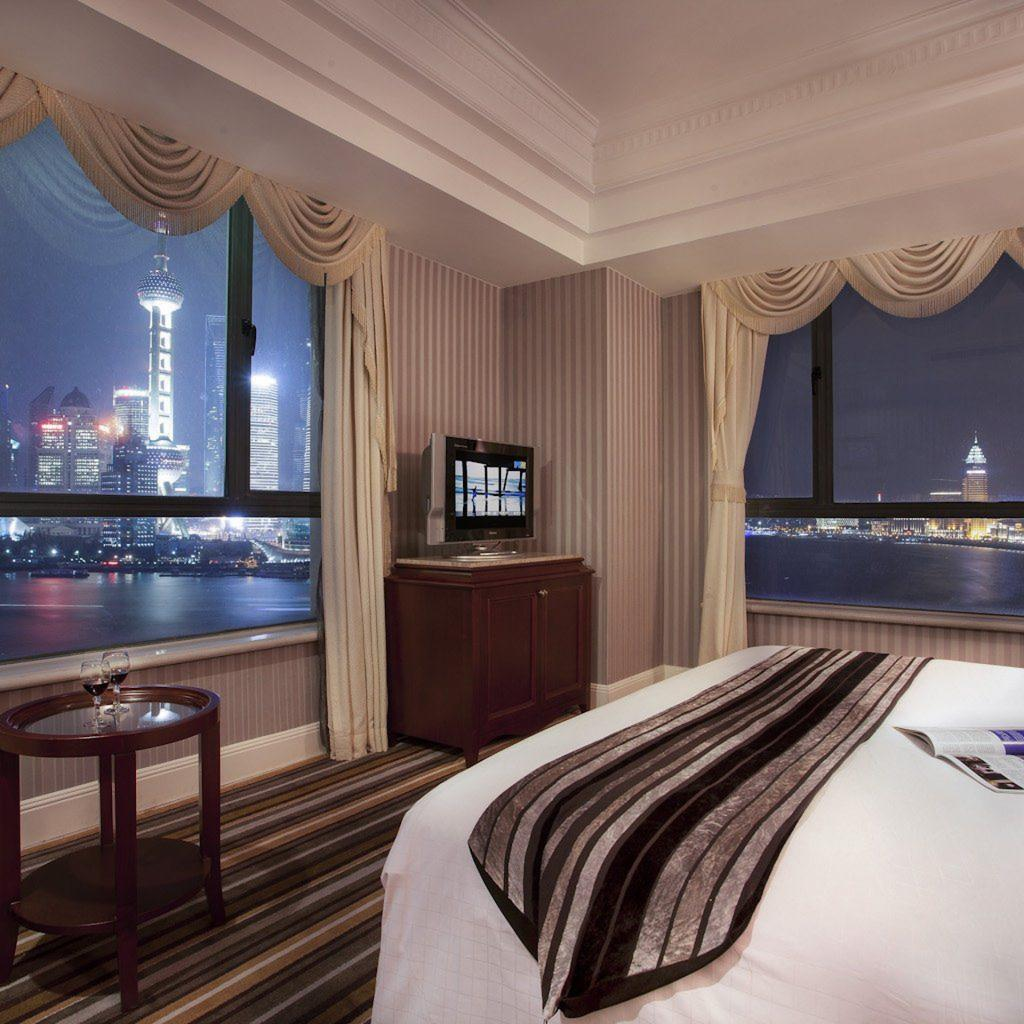 Jumeirah himalaya hotel shanghai extravagance delicacy for Chambre avec vues