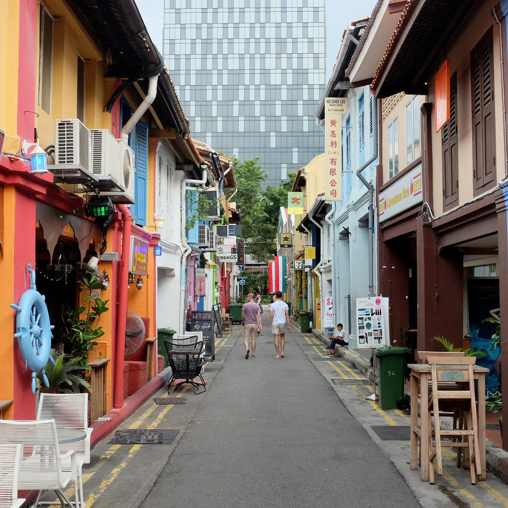 Haji Lane: home to Singapore's trendiest shops and bars