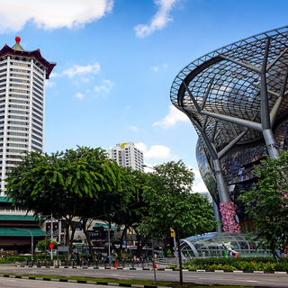 Orchard Road: a shopping paradise