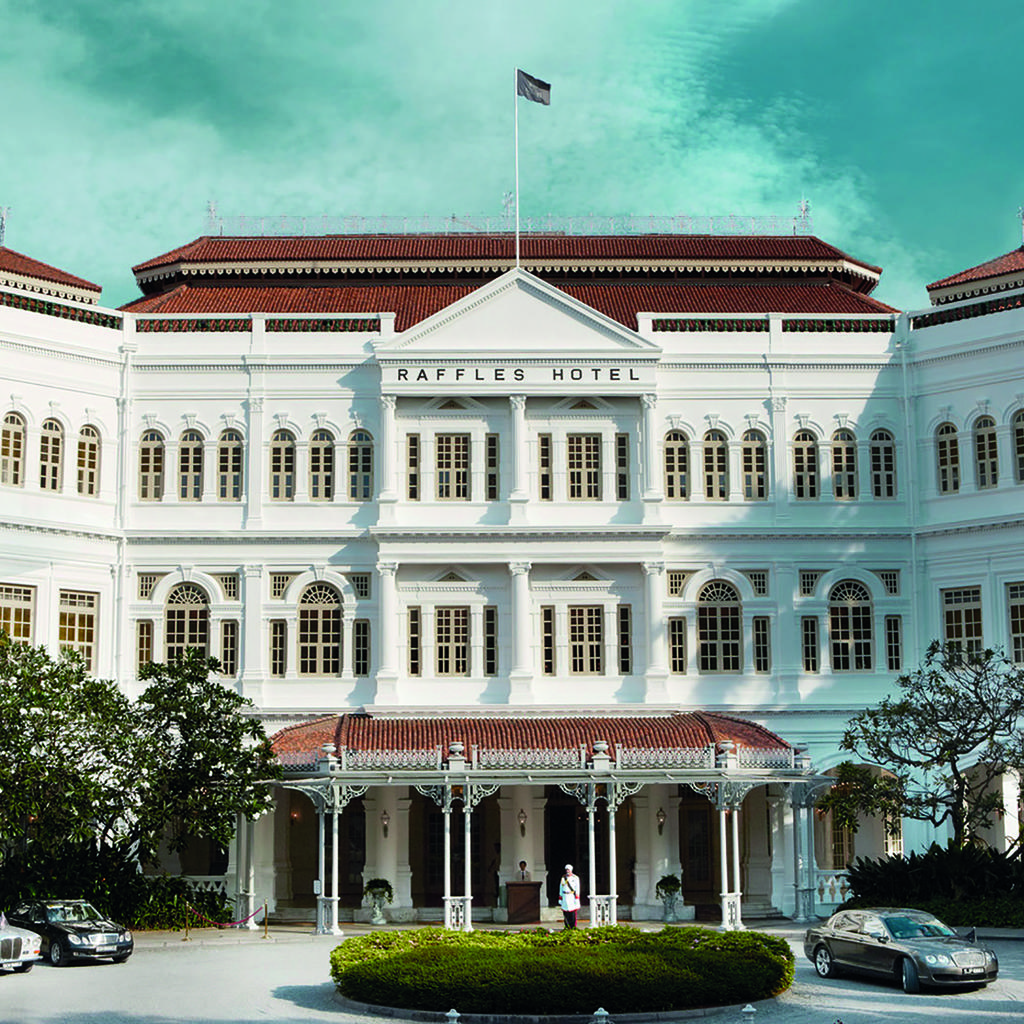 Raffles Hotel: luxury icon