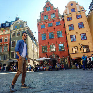 Stockholm, for a 100% cocooning getaway with Alex Vizeo