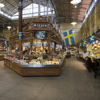 Östermaln Saluhall: a mouth-watering market