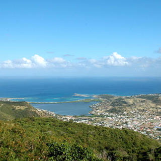 Climbing Pic Paradis, Saint Martin's highest point
