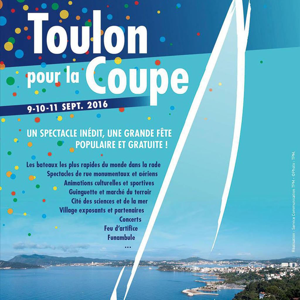 America's Cup World Series in the bay of Toulon