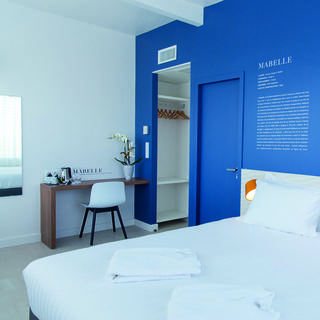 Les Voiles: cosy design hotel five minutes from the beach