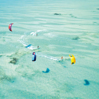 The hotspot for kitesurfing enthusiasts
