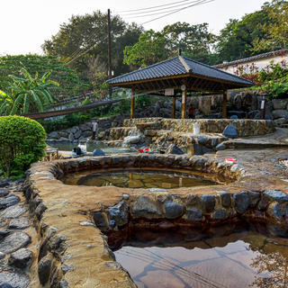 Relaxing break at the Beitou hot springs