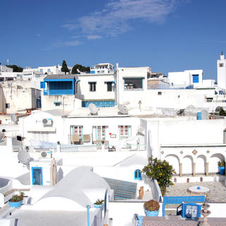 Sidi Bou Saïd: a village of light