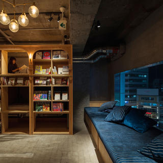 Book & Bed: a night in a library