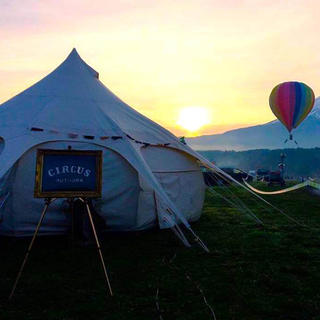Circus Outdoor, when glamour and camping come together as one