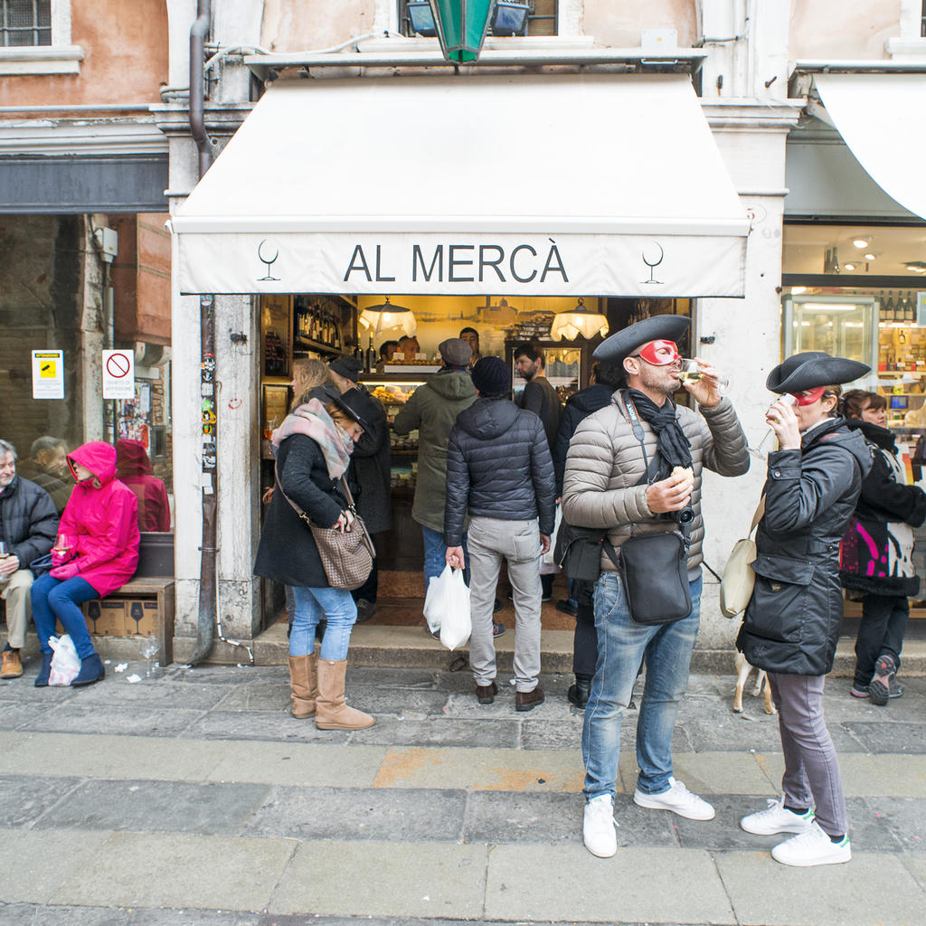 Al Mercà: the best wine bar