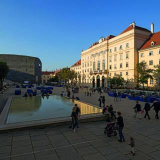 Museumsquartier Wien, an oasis of culture