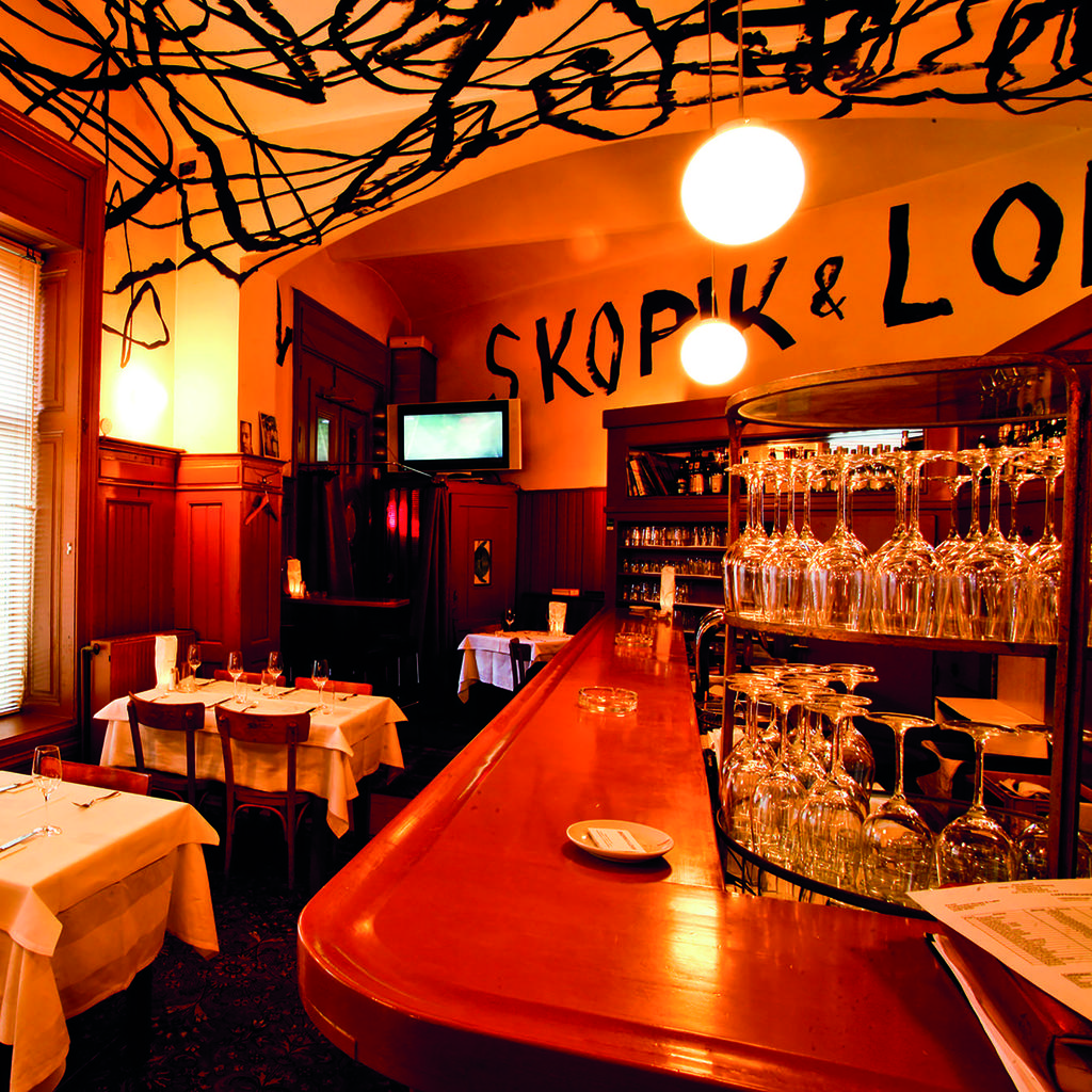 Skopik & Lohn: eating well under an artistic ceiling