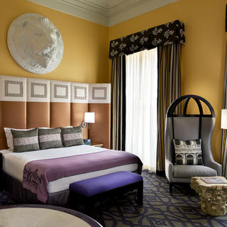 Hotel Monaco: a grandiose setting in a handsome old building