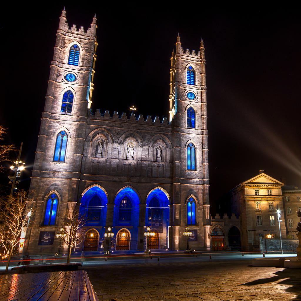 Notre-Dame Basilica: no equivalent in Montreal