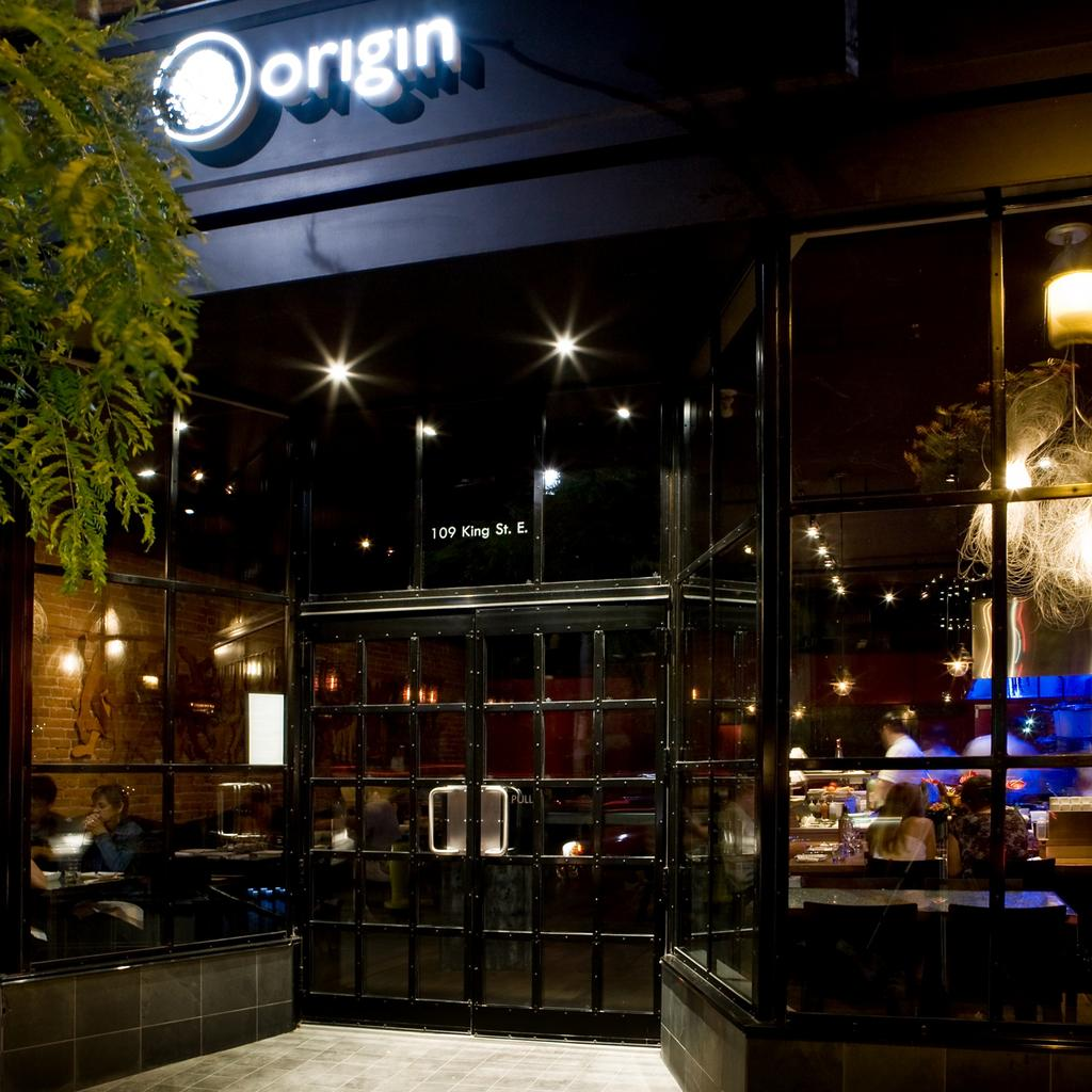 Origin Restaurant: innovative cuisine