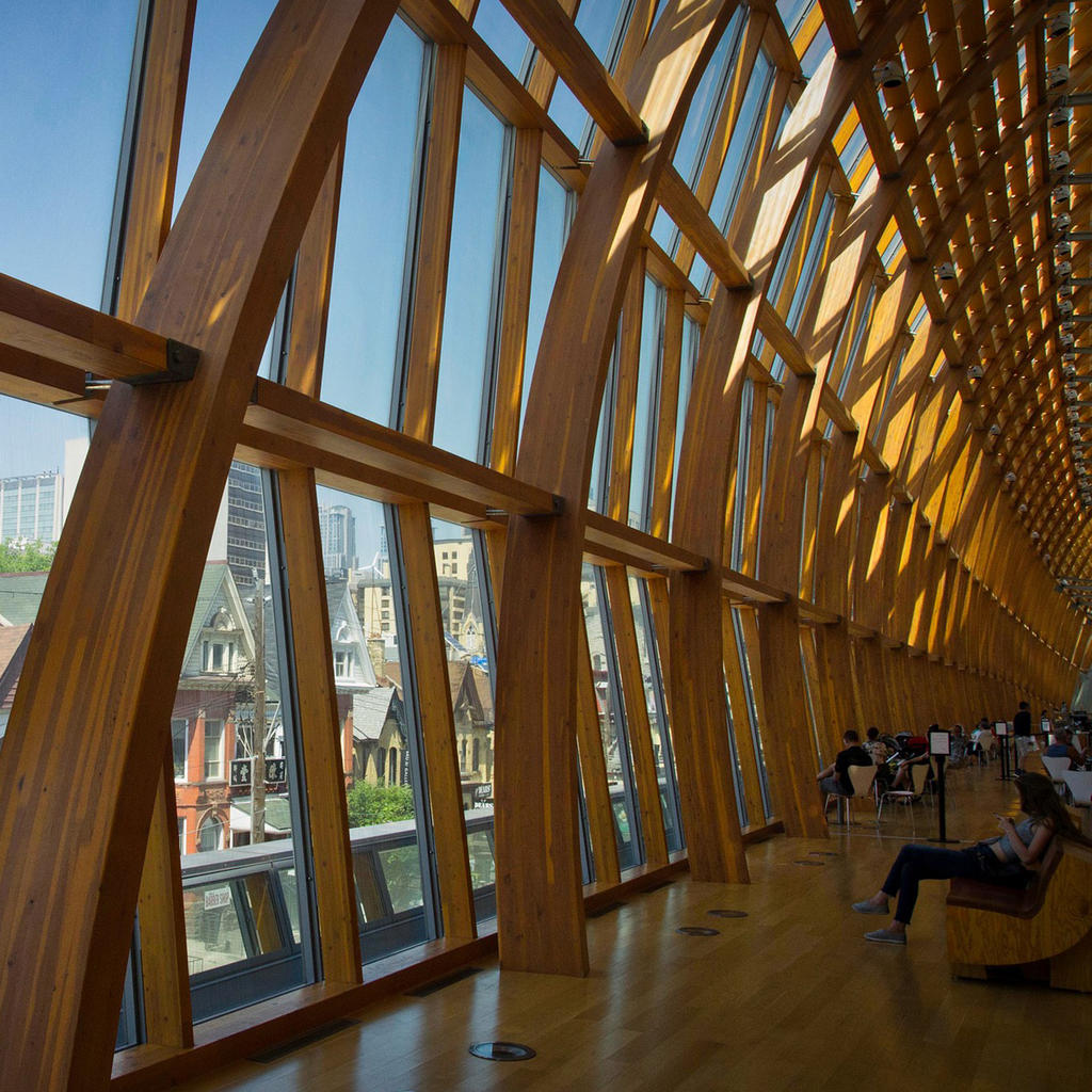 The fantastic Art Gallery of Ontario: enhanced by Frank Gehry