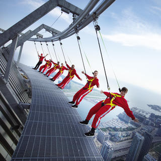 Sensations fortes au CN Tower