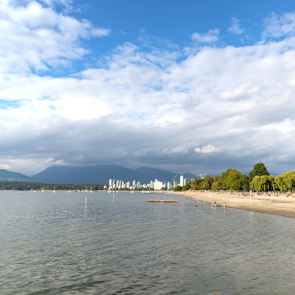 Kitsilano Beach: symbol of Vancouver's art of living