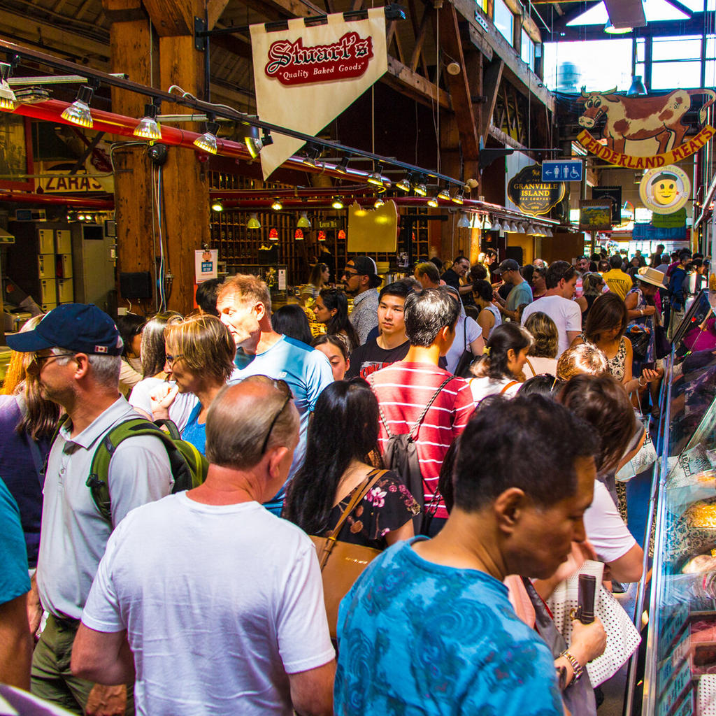 The incredible Granville Island Market