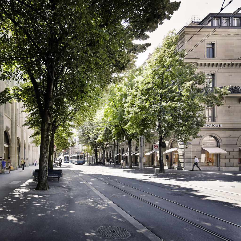 Bahnhofstrasse: the most expensive street in Europe