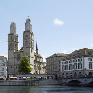 Grossmünster: in the footsteps of Charlemagne
