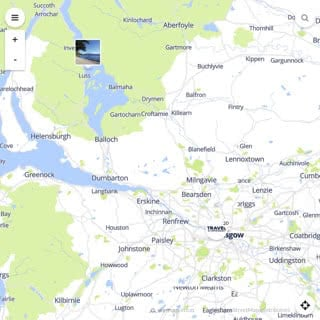 Discovery map - Our selection of must-see places in and around Glasgow
