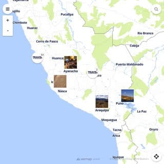 Discovery map - Our selection of must-see places in and around Lima