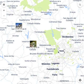 Discovery map - Our selection of must-see places in and around Madrid