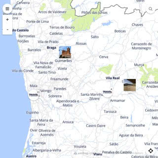 Discovery map - Our selection of must-see places in and around Porto