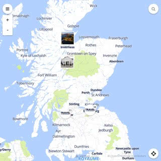 Discovery map - Our selection of must-see places in and around Edinburgh