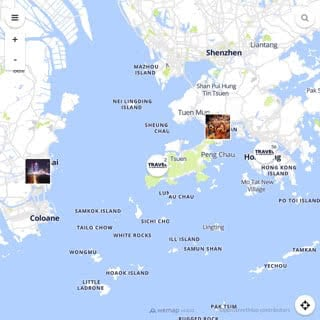 Discovery map - Our selection of must-see places in Hong Kong