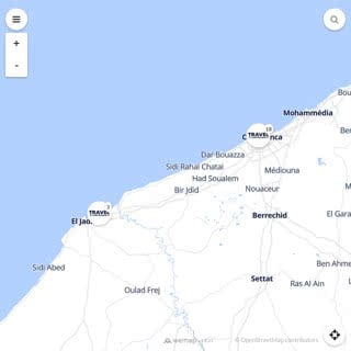 Discovery map - Our selection of must-see places in and around Casablanca