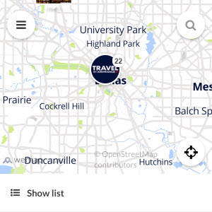 Discovery map - Our selection of must-see places in and around Dallas